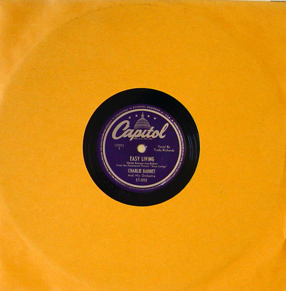 Charlie Barnet And His Orchestra 78