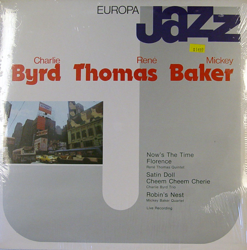 "Charlie Byrd / Rene Thomas / Mickey Baker Vinyl 12"" (New)"