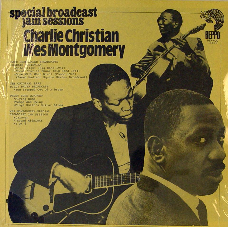 "Charlie Christian / Wes Montgomery Vinyl 12"" (New)"