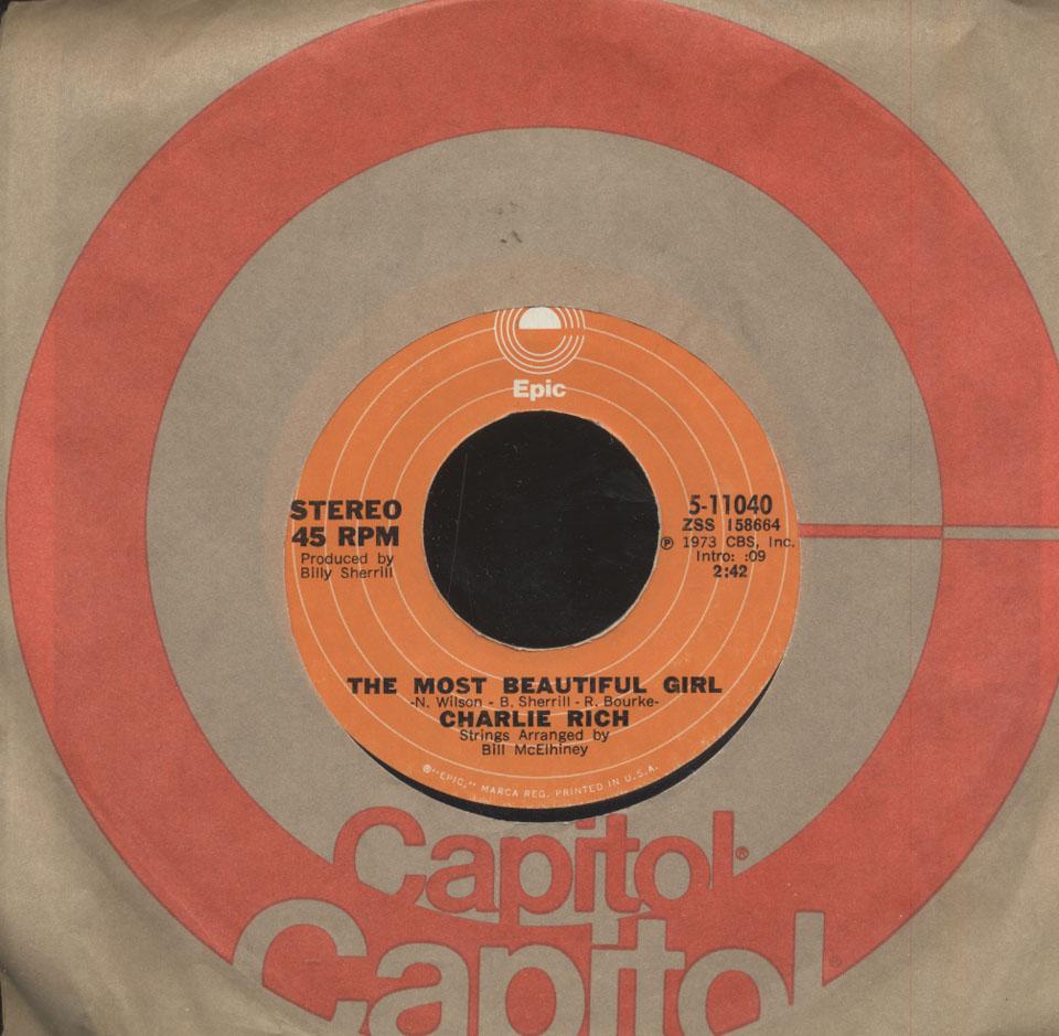"Charlie Rich Vinyl 7"" (Used)"