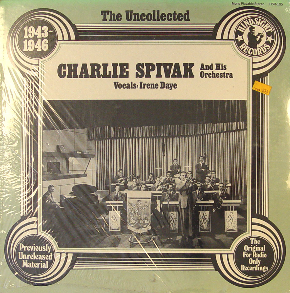 """Charlie Spivak And His Orchestra Vinyl 12"""" (New)"""