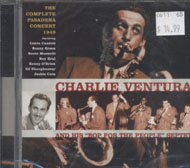 "Charlie Ventura and His ""Bop For The People"" Sextet CD"