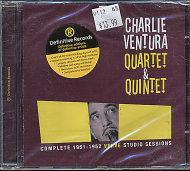 Charlie Ventura Quartet & Quintet CD