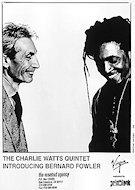 Charlie Watts Promo Print