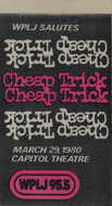 Cheap Trick Backstage Pass