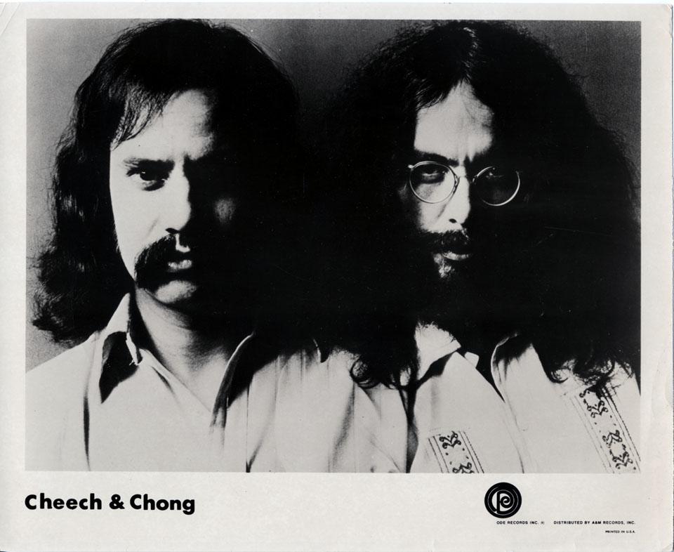 Cheech and Chong Promo Print