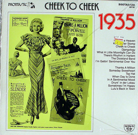 "Cheek to Cheek: 1935 Vinyl 12"" (New)"