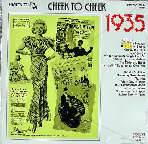 "Cheek to Cheek: 1935 Vinyl 12"" (New)"