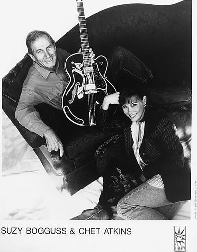 Chet Atkins Promo Print