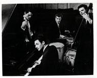 Chet Baker Quartet Vintage Print