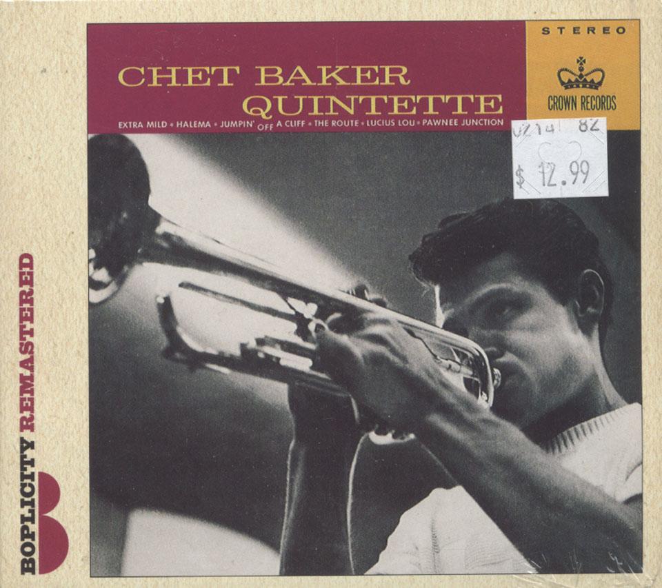 Chet Baker Quintette CD