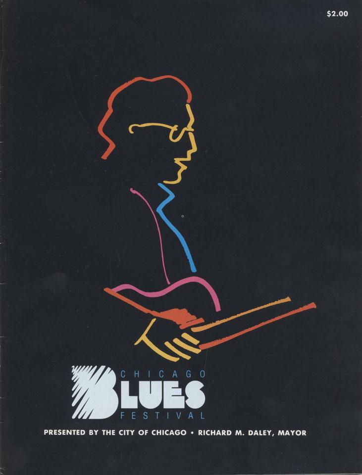 Chicago Blues Fesival Program