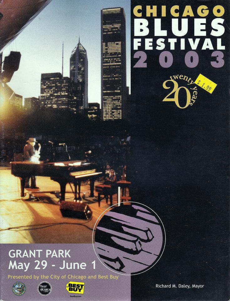 Chicago Blues Festival 2003 Program