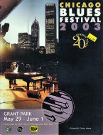 Chicago Blues Festival 2003 Program
