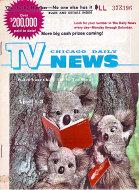 Chicago Daily TV News Magazine April 1, 1972 Magazine