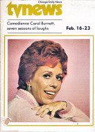 Chicago Daily TV News Magazine February 16, 1974 Magazine
