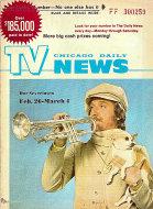 Chicago Daily TV News Magazine February 26, 1972 Magazine