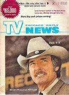 Chicago Daily TV News Magazine January 1, 1972 Magazine