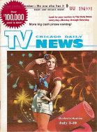 Chicago Daily TV News Magazine July 3, 1971 Magazine