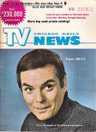 Chicago Daily TV News Magazine June 10, 1972 Magazine