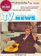 Chicago Daily TV News Magazine June 5, 1971 Magazine