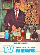 Chicago Daily TV News Magazine May 16, 1964 Magazine