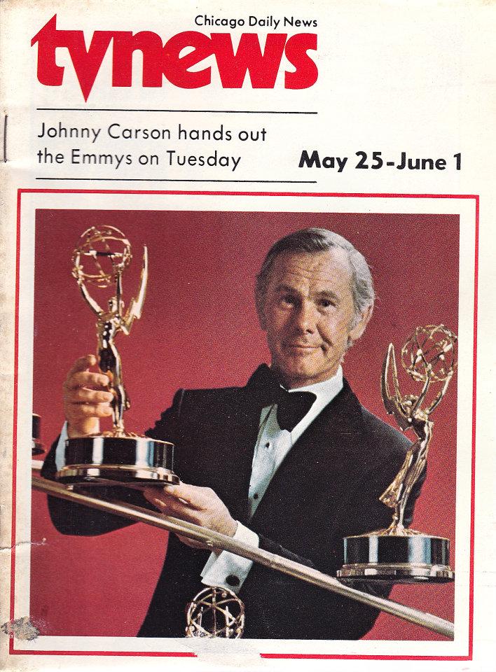 Chicago Daily TV News Magazine May 25, 1974
