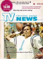 Chicago Daily TV News Magazine November 20, 1971 Magazine