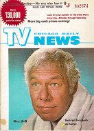 Chicago Daily TV News Magazine October 2, 1971 Magazine