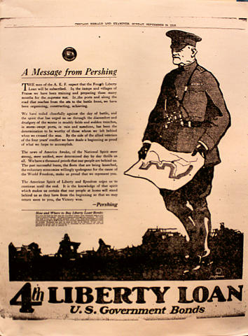 Chicago Herald and Examiner September 29, 1918 Poster