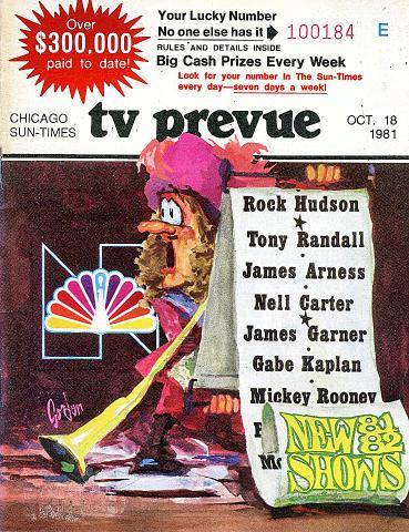 Chicago Sun-Times October 18, 1981 Magazine