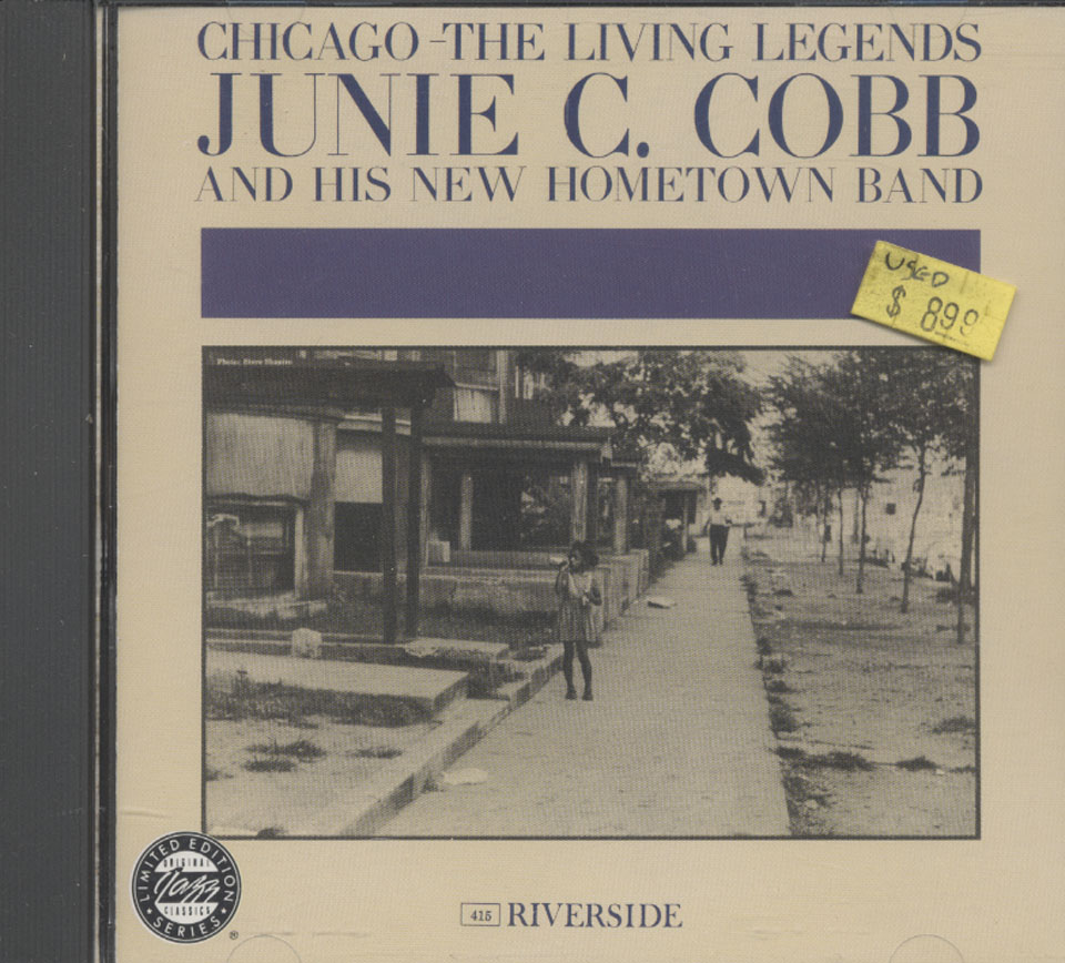Chicago: The Living Legends June C. Cobb and his new hometown band CD