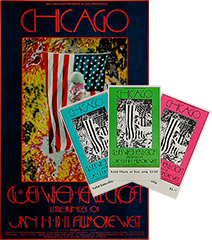 Chicago Poster/Ticket Bundle