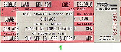 Chicago Vintage Ticket