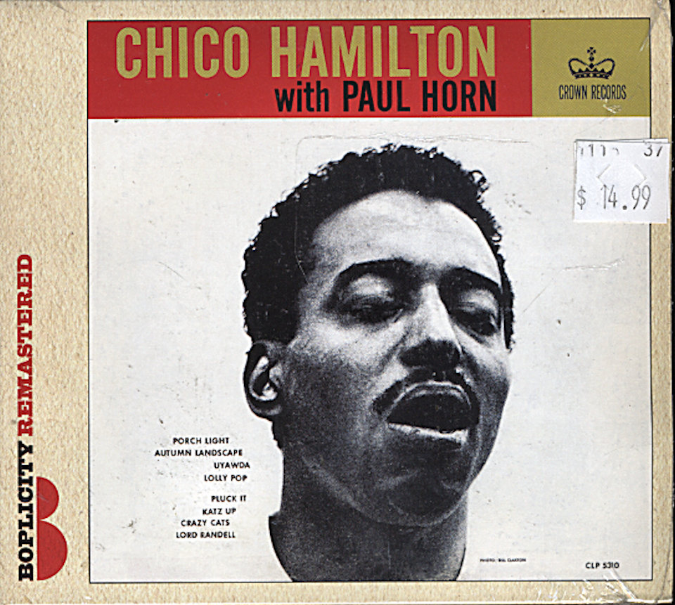 Chico Hamilton With Paul Horn CD