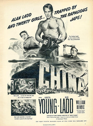 China Vintage Ad