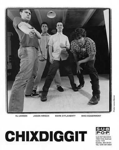 Chixdiggit Promo Print