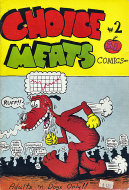 Choice Meats Comics #2 Comic Book