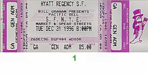 Chris Isaak Vintage Ticket