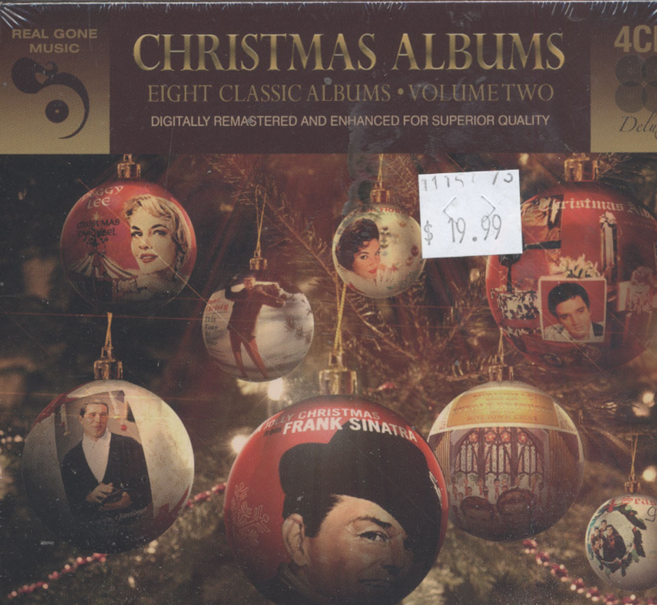 christmas albums eight classic albums volume two cd - Classic Christmas Albums