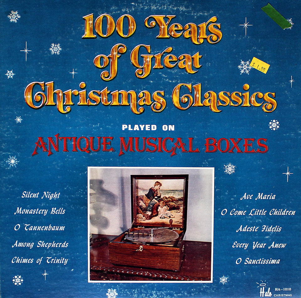 Christmas Classics Played On Antique Music Boxes Vinyl 12\