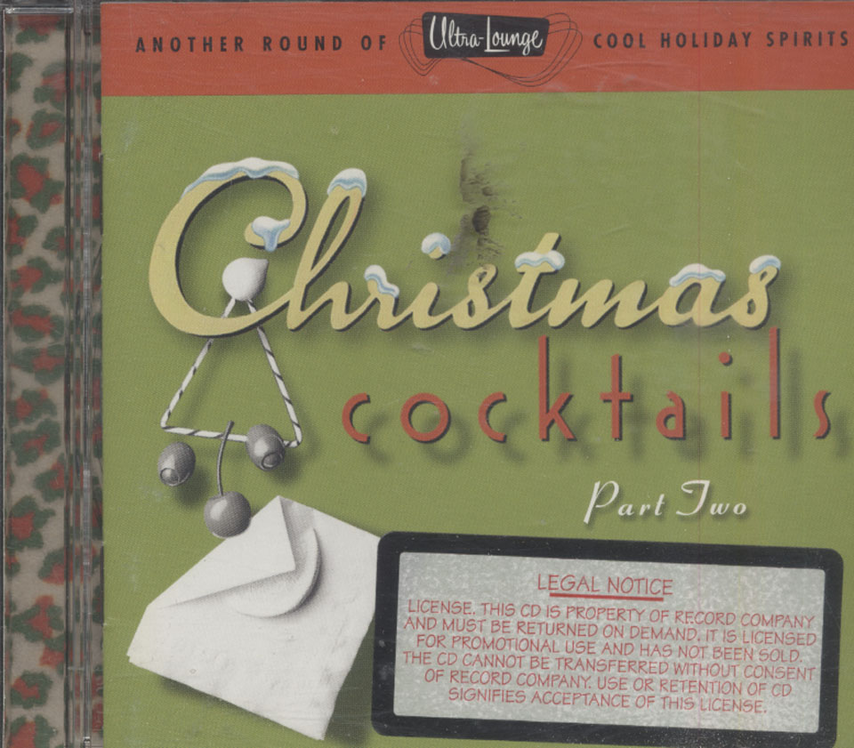 Christmas Cocktails Part Two CD