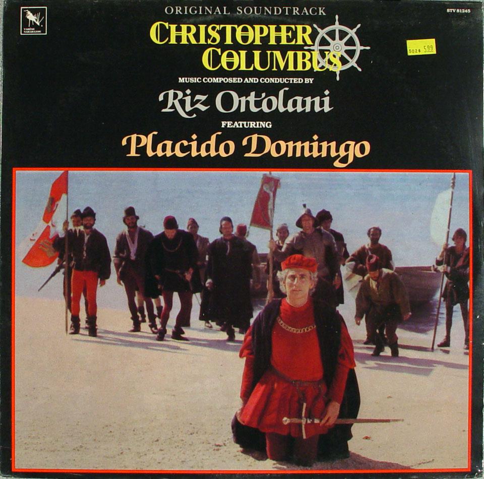 "Christopher Columbus Vinyl 12"" (New)"