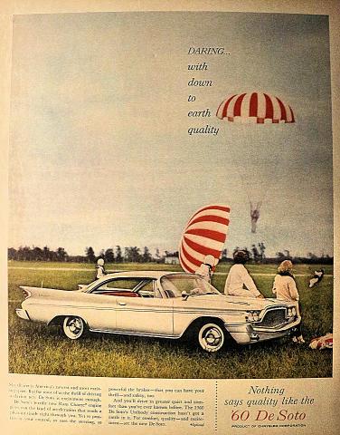 Chrysler De Soto Vintage Ad