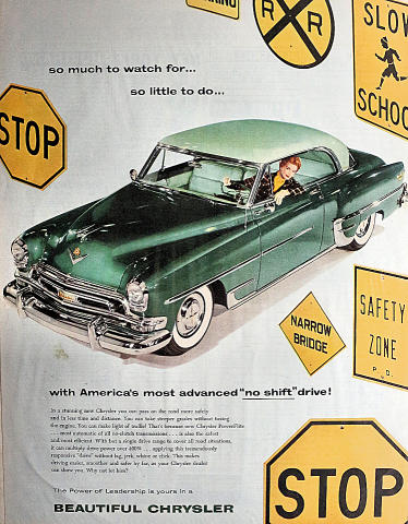 Chrysler: So Much To Watch For... Vintage Ad