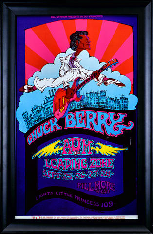 Chuck Berry Framed Poster