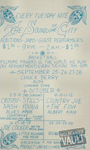 Chuck Berry Handbill reverse side