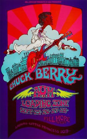 Chuck Berry Handbill