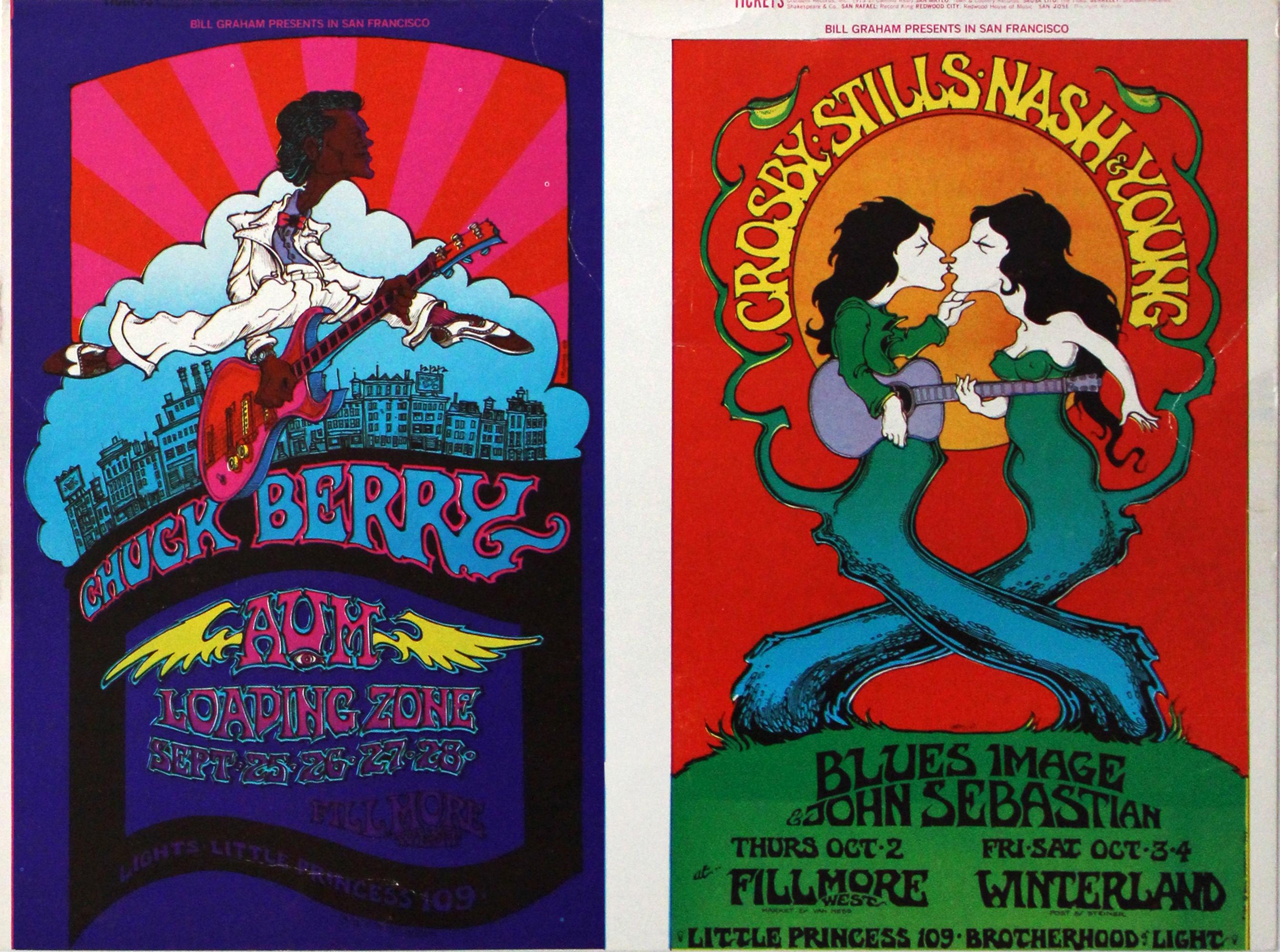 Chuck Berry Postcard
