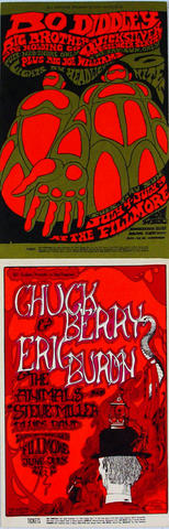 Chuck Berry Postcard